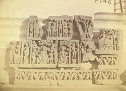 Buddhist sculptures excavated at Lorian Tangai, Peshawar District: small friezes with scenes from the life of Buddha 10031062